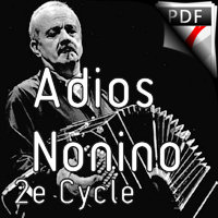 Adios Nonino - Orchestre d'Harmonie - PIAZZOLLA A.