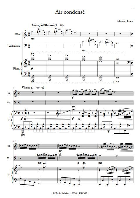 Air condensé - Trio - LIBOUREL L. - app.scorescoreTitle