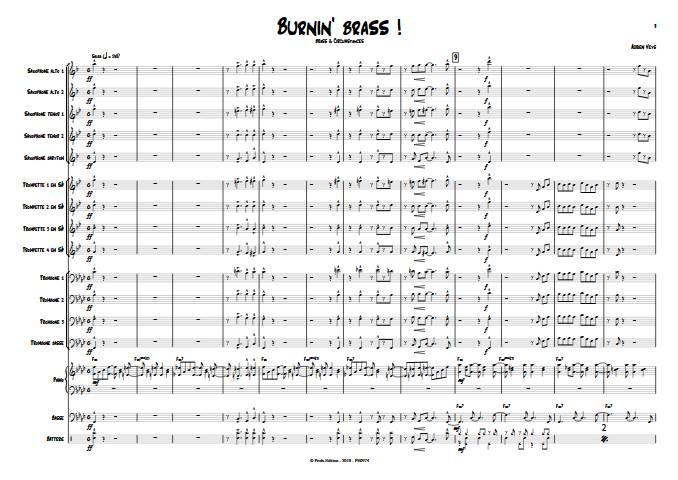 Burnin'Brass - Brass & Circumstances - Big Band - VEYS A. - app.scorescoreTitle