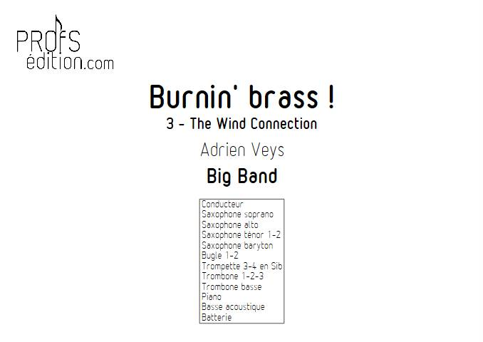 Burnin'Brass - The Wind Connection - Big Band - VEYS A. - front page