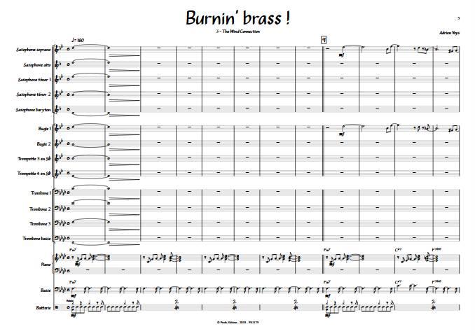 Burnin'Brass - The Wind Connection - Big Band - VEYS A. - app.scorescoreTitle