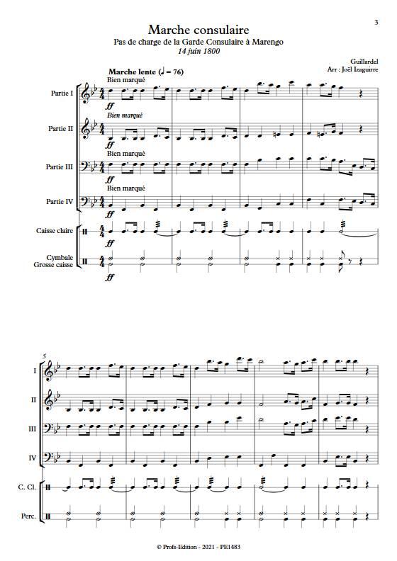 Marche consulaire- Fanfare - GUILLARDEL - app.scorescoreTitle
