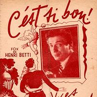 C'est si bon - Septet Jazz - BETTI H.