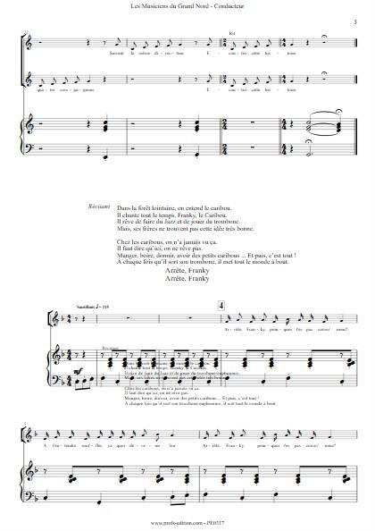 Les musiciens du Grand Nord - Chœur seul- FRELAT G. - app.scorescoreTitle