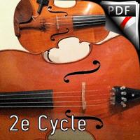 Danse Polovtsienne - Duo Violon et Violoncelle - BORODINE A.