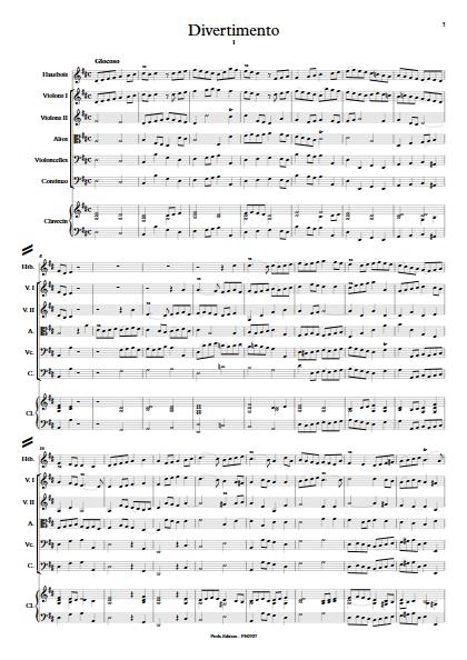 Divertimento - Hautbois & Ensemble Baroque - ZEHAR F. - app.scorescoreTitle