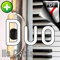 Endormi sur l'océan - Duo Flûte Piano - CARBONNEAUX B.