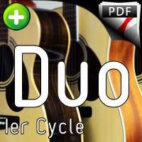Le Vent - Duos Guitare - LE BARS D.