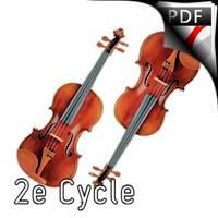Duo Miroir - Duo de violons - VALZANIA V.