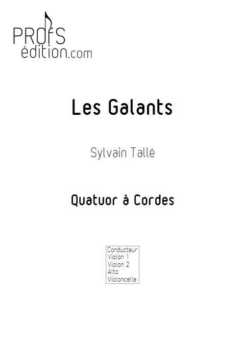 Galant - Quatuor à Cordes - TALLE S. - front page
