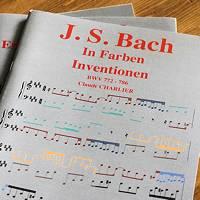 Bach In Farben Inventionen – BWV 772-786 - Analyse - CHARLIER C.
