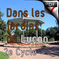 Dans les Jardins de Luçon - Orchestre d'Harmonie - BOUTILLIERS R.