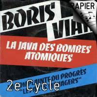 La Java des bombes Atomiques - Chœur 3 voix mixtes - VIAN B.