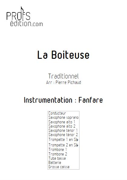 La Boiteuse - Fanfare - TRADITIONNEL - front page