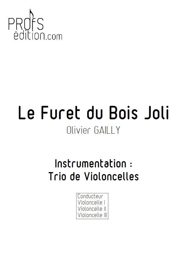 Le Furet du Bois Joli - Trio Violoncelles - TRADITIONNEL - front page