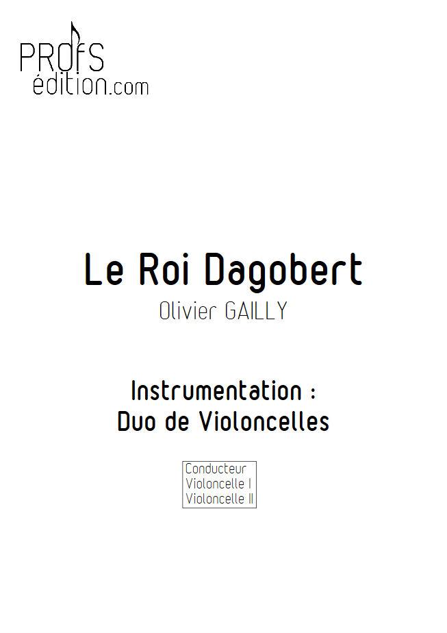 Le Roi Dagobert - Duo Violoncelles - TRADITIONNEL - front page