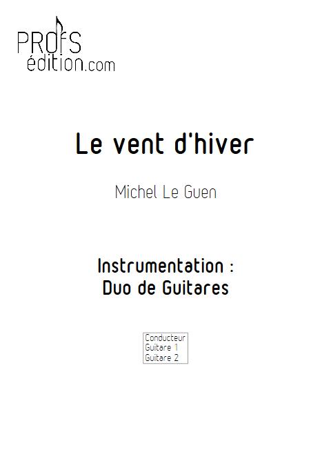 Le vent d'hiver - Duo de Guitares - LE GUEN M. - front page