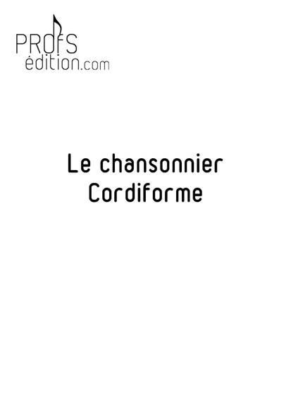 le chansonnier Cordiforme - Poster - CHARLIER C. - front page