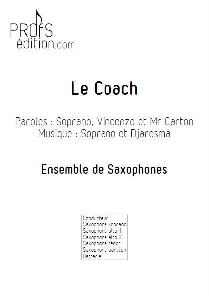 Le Coach - Ensemble de Saxophones - SOPRANO - front page