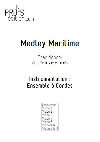 Medley Maritime - Ensemble à Cordes - TRADITIONNEL - front page
