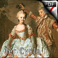 Menuet - Quatuor de Saxophones - d'HERVELOIS Louis de Caix