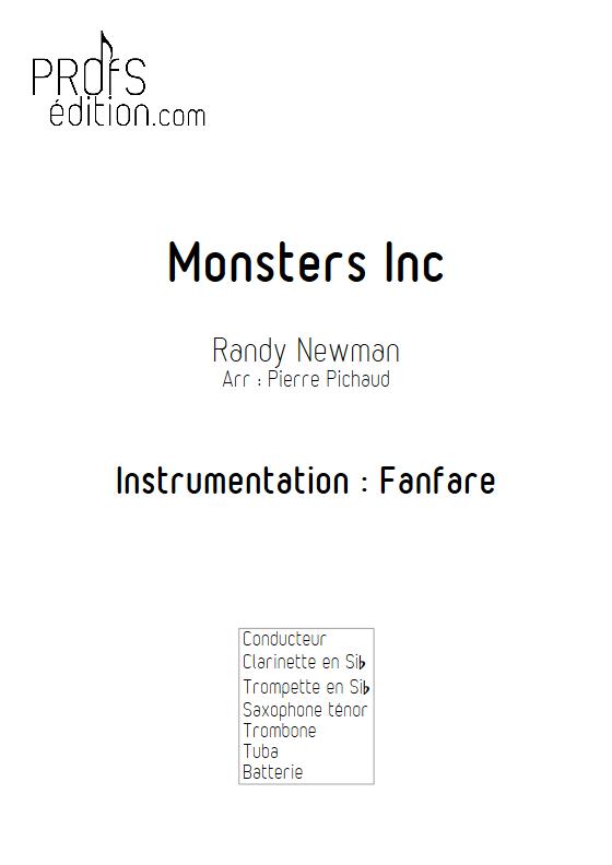Monstres et Cie - Fanfare - NEWMAN R. - front page