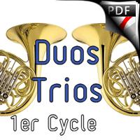 Ode à la joie - Duos, Trio Cors et Piano- BEETHOVEN L. V.
