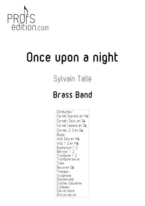 Once upon a night - Brass Band - TALLE S. - front page
