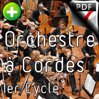 Le Marché de Noël - Orchestre Cordes - GUILLONNEAU C.