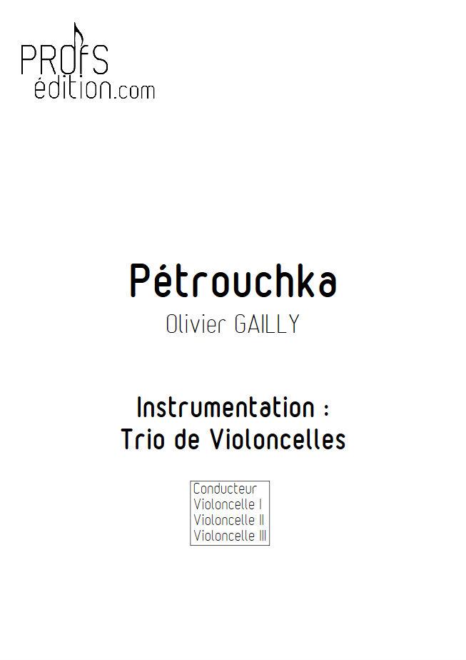 Petrouchka - Trio Violoncelles - TRADITIONNEL - front page