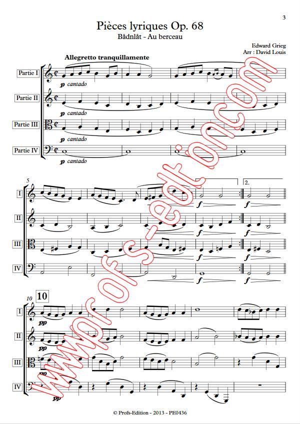 Pièce Lyrique Op.68 - Ensemble à Géométrie Variable - GRIEG E. - app.scorescoreTitle