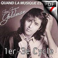 Quand la musique est bonne - Ensemble de Saxophones - GOLDMAN J.J.