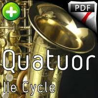 La Fille aux Cheveux de lin - Quatuor Saxophones - DEBUSSY C.
