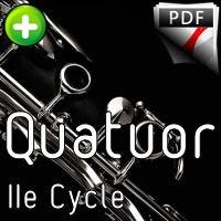 Bagatelle Op.47 - Quatuor Clarinettes - DVORAK A.