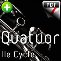Sérénade KV 361 - Quatuor de Clarinettes - MOZART W. A.