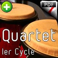 Obata Loïsha - Quatuor Flûte Percussions - LEDROIT F.