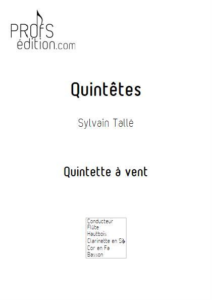 Quintêtes - Quintette à vent - TALLE S. - front page