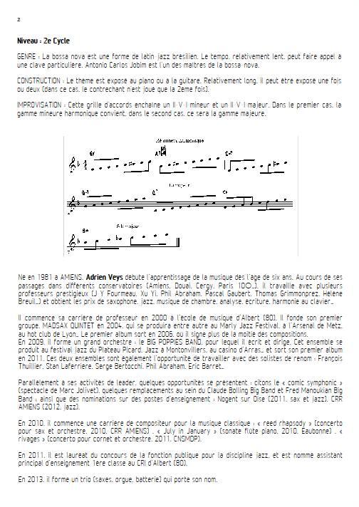 Señorita - Quatuor de Clarinettes - VEYS A. - Educationnal sheet