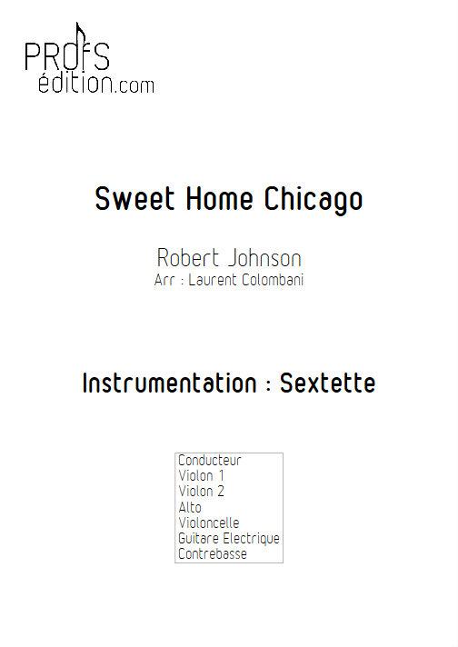 Sweet Home Chicago - Sextuor à Cordes - JOHNSON R. L. - front page