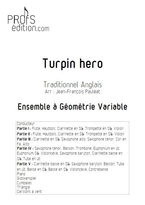 Turpin Hero - Ensemble Variable - TRADITIONNEL ANGLAIS - front page