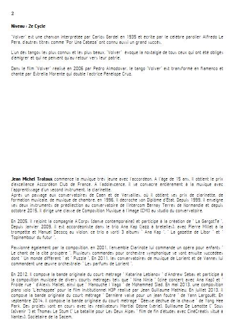 Volver - Duo Violon et Piano - GARDEL C. - Educationnal sheet